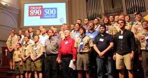 Troop 890: 500 Eagles Celebration