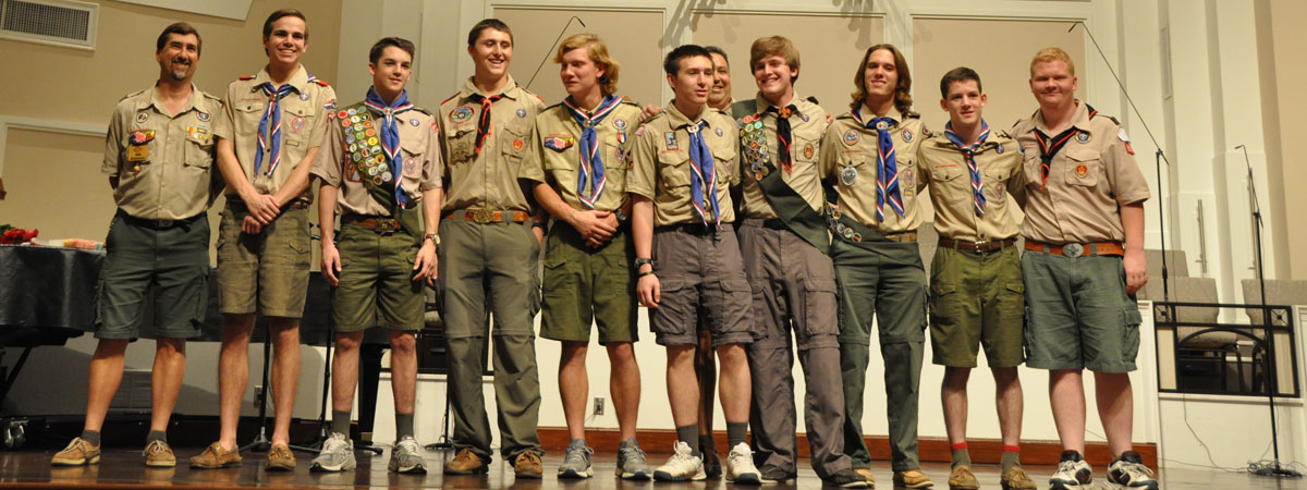 Eagle Scout Leaders for over 50 Years